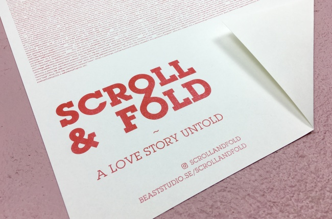 Scroll and fold. BEAST Studio